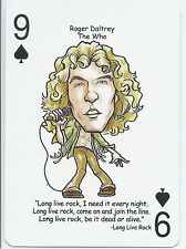 Roger Daltrey - The Who - ODDBALL Playing card