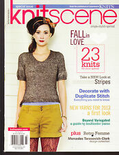 KNIT  SCENE,  SPRING, 2012   ( SPECIAL ISSUE )   ( 23 KNITS FOR YOUR QUEUE )