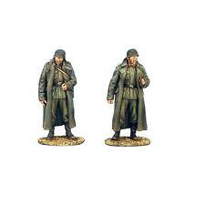 GERSTAL021c German Artillery Crew in Greatcoats - 2 Figures by First Legion
