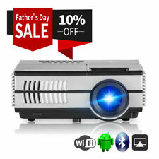 2800lms EUG HD Mini Smart Projector Bluetooth Android WiFi Home Theater TV WLAN