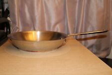 """EMERIL All Clad Chef 10"""" Skillet Stainless Steel Copper Core Ring Frying Pan"""