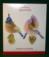 HALLMARK ORNAMENT 2013 #1 # 2 MAKE-UP SET IN THE TWELVE DAYS OF CHRISTMAS