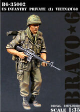 【X107】1:35 U.S. Infantry Resin Figure Model Kit