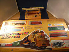 Vintage Mehano Master Thunderbolt Express (Engine,Caboose & 6 Freight Cars) Trai