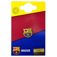 FC BARCELONA FCB CLUB ENAMEL CREST PIN BADGE FOOTBALL CLUB NEW GIFT XMAS