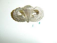 b0338 WW2 US Airborne Metal Jump Paratrooper Wings Parachute PIR A8A15