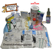 Dog Whelping Kit Box Deluxe & Royal Canin Milk, Bottle & Puppy Life Drops 10ml