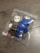 NEW KAWS SEEING WATCHING PLUSH BFF COMPANION DOLL KEYCHAIN LIMITED EDITION