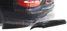 2007 08 Mercedes Benz E Class E350 W211 Euro V1 Style Carbon Fiber 2pc Rear Lip
