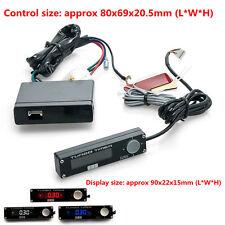 1pcs universal Model Blue LED Digital Display Control Unit Auto Car Turbo Timer