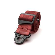 D'Addario Auto Lock Guitar Strap, Blood Red 50BAL11