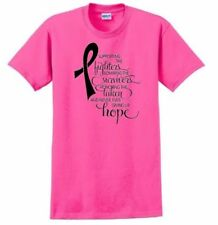 Breast Cancer Awareness T-shirt Tee Tatas Support Honor Hope Adult Pink MEDIUM
