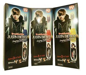 BrushBuddies Justin Beiber Singing Toothbrush