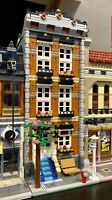 LEGO CUSTOM MODULAR BUILDING TOWN HOUSE fits with 10218 10246 10251 MOC 589 np