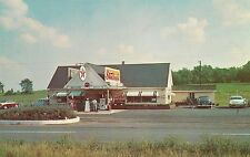 Stuckey's Pecan Shoppe and Texaco East of Warrenton VA Postcard
