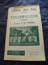 Partition Viens au bal Whirlwind of M. Teisseire Valses