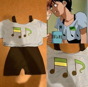 Shinji Ikari Dance Cosplay Evangelion Leotard Shirt