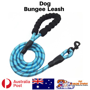 Dog Lead Strong Comfortable Padded Handle and Highly Reflective Leash Australia
