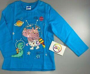 NEW NUTMEG Boys Peppa Pig George space dinosaur planets top t-shirt 0-5 years