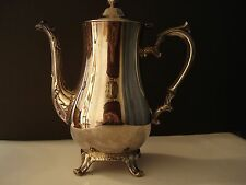 INTERNATIONAL SILVER COMP. TEA POT  USED FOR DECORATION ONLY