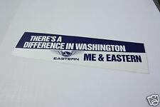 Baggage Label - Eastern - There's A Difference in Washington - Me (BL522) - OS