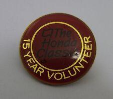 Collectible The Honda Classic Run/Walk 15 Year Volunteer Hat Lapel Pinback