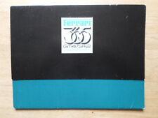 FERRARI 365 GT4 2+2 PININFARINA ORIGINALE 1973 BROCHURE DI VENDITA - #88/73