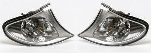 BMW 3 Series E46 Sedan Touring 2001-2004 Corner Lamp Turn Signal L+R Set