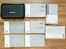 2016 Nissan Leaf Owners Manual Set with Navigation Book         FREE US SHIPPING