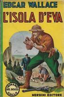 (Edgar Wallace) L'isola d'Eva 1942 Nerbini disco giallo 1