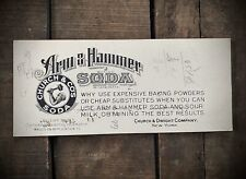 Antique 1910s Arm and Hammer Ink Blotter Excellent Graphics & Advertising NY WWI