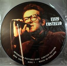 Elvis Costello Interview Picture Disc Uk 12""