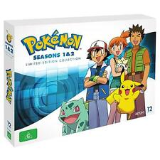 Pokemon SEASONS 1 - 2 Limited Edition : NEW DVD