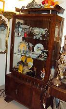 vetrina art decò 1930 borsani noce palissandro cartiglio