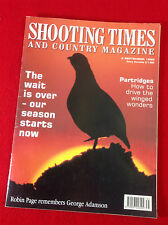 Shooting Times & Country : Magazine : 1999 - September 2nd