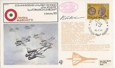 Handstamped Cover Italian Stamps