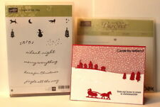 Stampin up Jingle all the way & Sleigh Ride Edgelits dies~use holiday home NEW