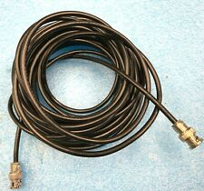 BELDEN 8259 RG-58A/U 30FT MALE/MALE COAXIAL BNC CABLE