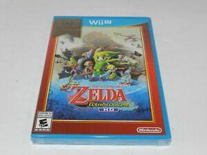 Legend of Zelda Wind Waker Nintendo Wii U Original Game Brand New Factory Sealed
