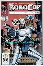 ROBOCOP #1 NM-, 2 3 4 5 6, 8, NM+, Future of Law Enforcement, Police, guns, 1990