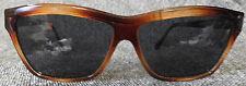 Ann Klein Sunglasses, Rectangular Purple-Gray Lense, Optical Quality Frames