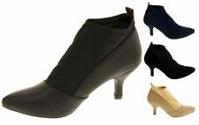 Special Occasion Patternless Textile Heels for Women