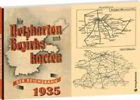 Die Netzkarten und Bezirkskarten der Deutschen Reichsbahn DR-G 1935 Buch NEU