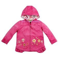 NEW with tags BNWT Girls pink flower hoodie cardigan size 2
