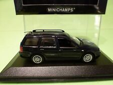 MINICHAMPS 56014 VW GOLF VARIANT 1999 - BLUE METALLIC 1:43 - EXCELLENT IN BOX