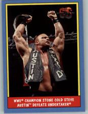 Stone Cold Steve Austin #106 WWE Heritage 2016 TOPPS Trade Card C2115