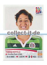 Panini Frauen WM World Cup 2015  - Sticker 473 - Teresa Noyola