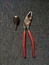 Orbis Needle Nose cutting Pliers tool Scissors Plus Extra Quick Release Drill Bt