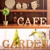 New Freestanding Wooden A-&-Z Letters Craft Hanging Wedding Home Party Decor