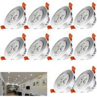 20x 3W LED Einbauleuchte Einbaustrahler Lampe Deckenleuchte Spot Kaltweiß IP44